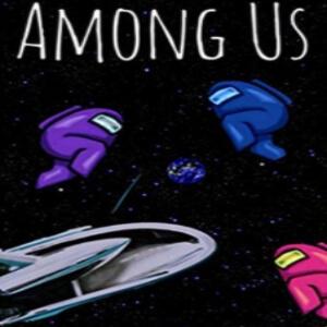 Cuaderno Among Us espacio