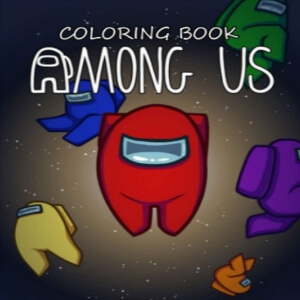 Libro para colorear among us