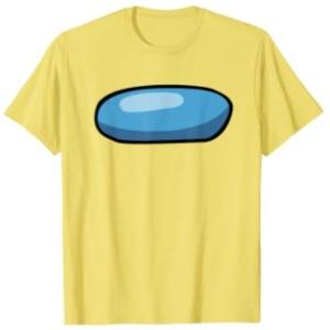 Camiseta manga corta hombre cara personaje Among Us