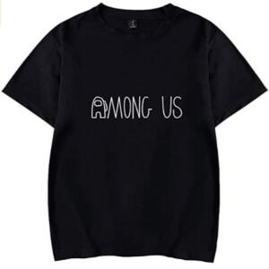 Camiseta manga corta letras Among Us