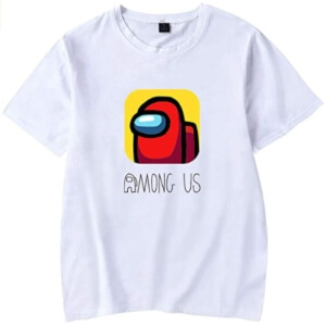 Camiseta manga corta logotipo Among Us