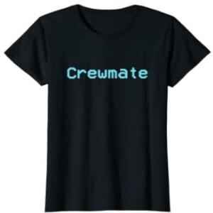 Camiseta manga corta mujer crewmate Among Us
