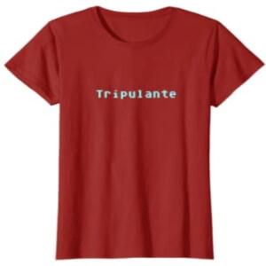 Camiseta manga corta mujer tripulante Among Us