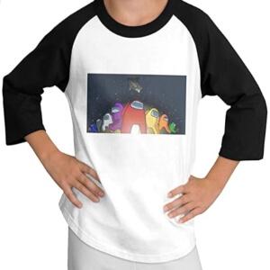 Camiseta manga larga personajes con tortuga Among Us