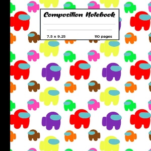 Composition notebook Among Us