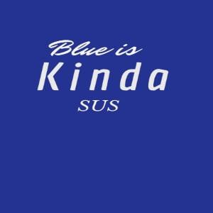 Cuaderno blue is kinda sus Among Us