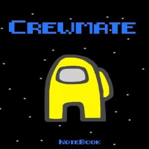 Cuaderno crewmate personaje amarillo Among Us