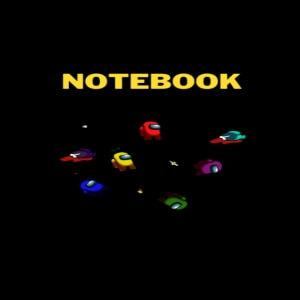 Cuaderno mini personajes Among Us