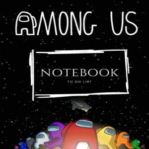Cuaderno to do list personajes Among Us