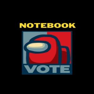 Cuaderno vote Among Us