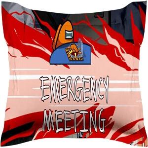 Funda almohada 50x76cm emergency meeting Among Us