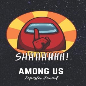 Impostor journal fondo negro en el espacio