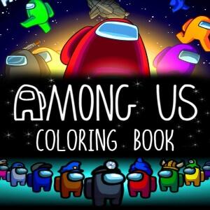 Libro colorear Among Us