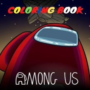Libro para colorear 50 personajes Among Us