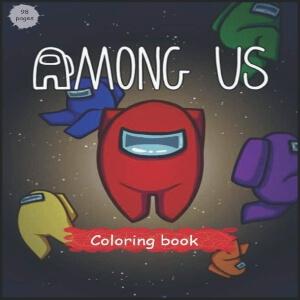 Libro para colorear con diseños geniales Among Us