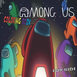 Libro para colorear para ninos Among Us