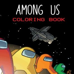 Libro para colorear todos los personajes Among Us