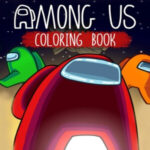 Libro para pintar Among Us