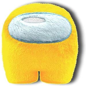 Mini peluche personaje amarillo Among Us