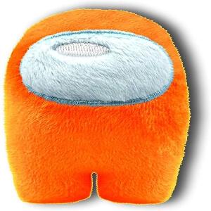 Mini peluche personaje naranja Among Us