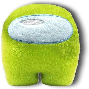 Mini peluche personaje verde Among Us