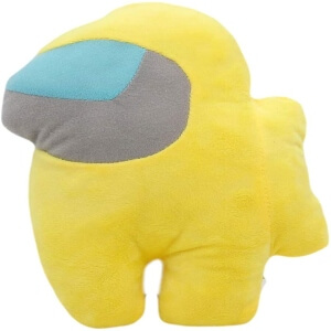 Peluche personaje amarillo Among Us