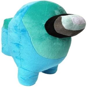 Peluche personaje azul con ojos 3D Among Us