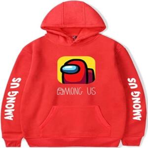 Sudadera con capucha logotipo Among Us