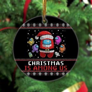 Adorno Navidad christmas is Among Us