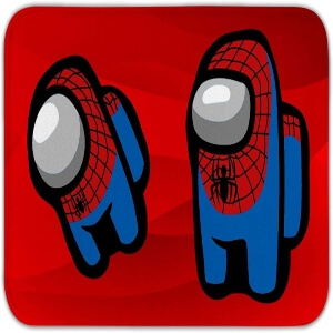 Alfombra spiderman Among Us