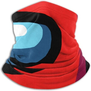 Bandana cara personaje rojo Among Us