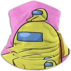 Bandana personaje amarillo con personaje amarillo mini Among Us