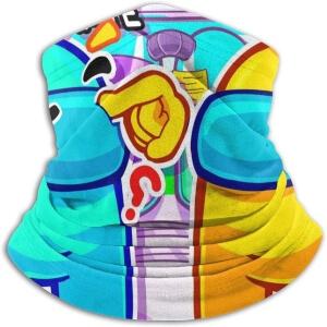 Bandana personaje azul y amarillo Among Us