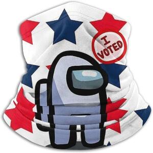 Bandana personaje blanco i voted Among Us