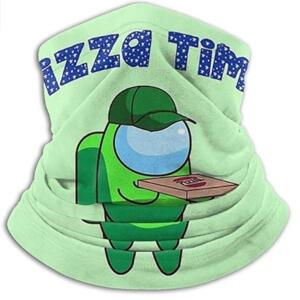 Bandana personaje verde pizzero Among Us