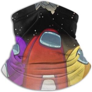 Bandana personajes con nave espacial Among Us