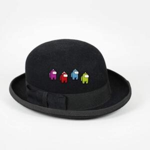 Broches en sombrero Among Us