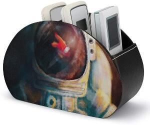 Caja de almacenamiento personaje en casco de astronauta Among Us