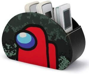 Caja de almacenamiento personaje rojo Among Us