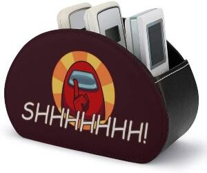 Caja de almacenamiento personaje rojo shhhhhhh Among Us