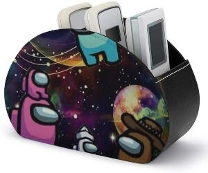Caja de almacenamiento personajes en el espacio Among Us