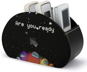 Caja de almacenamiento personajes en el espacio are you ready Among Us