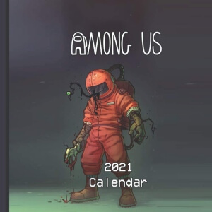 Calendario 2021 personaje real Among Us