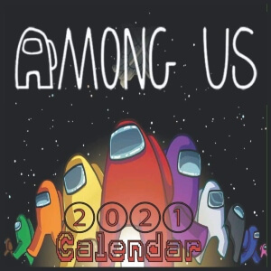 Calendario 2021 personajes Among Us