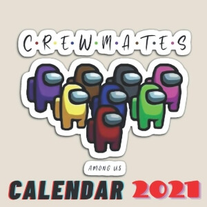 Calendario 2021 personajes crewmates Among Us