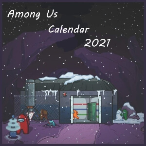 Calendario 2021 polus Among Us