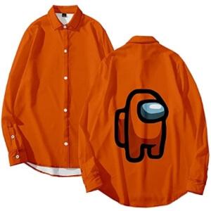 Camisa personaje naranja Among Us