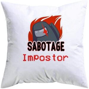 Cojin sabotage Among Us