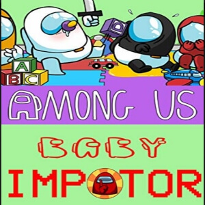 Comic baby impostor Among Us