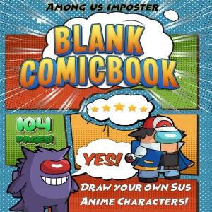 Comic para dibujar personajes de Among Us